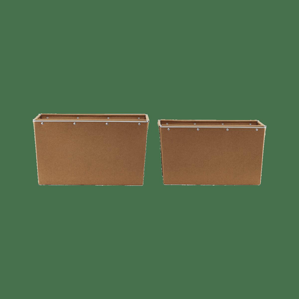 Úložné krabice – sada 2 kusů