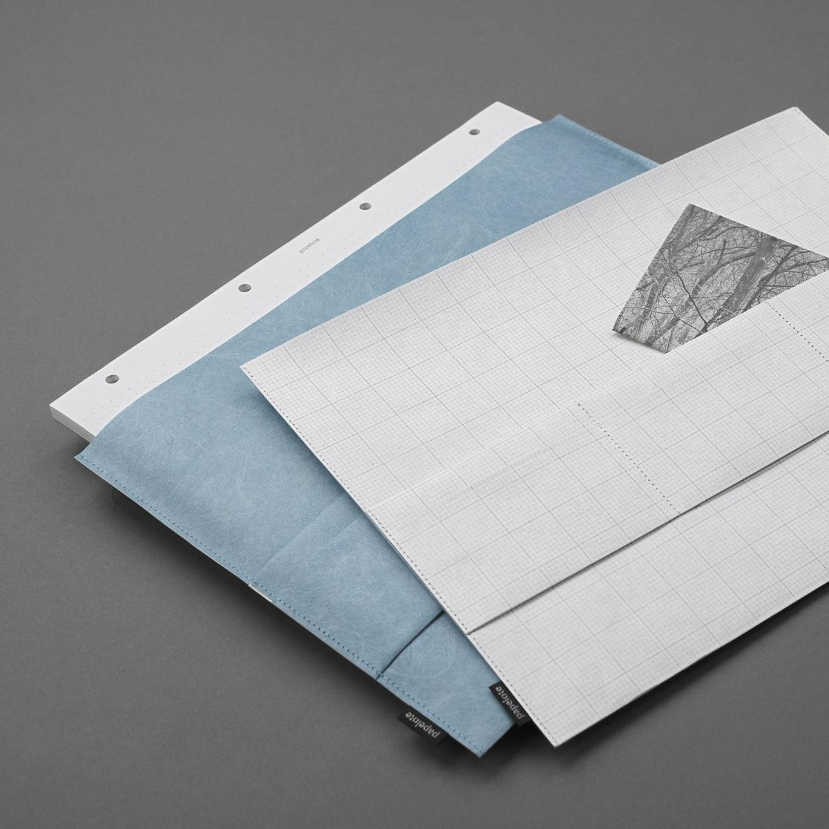 PAPERO desky A4 - bílé