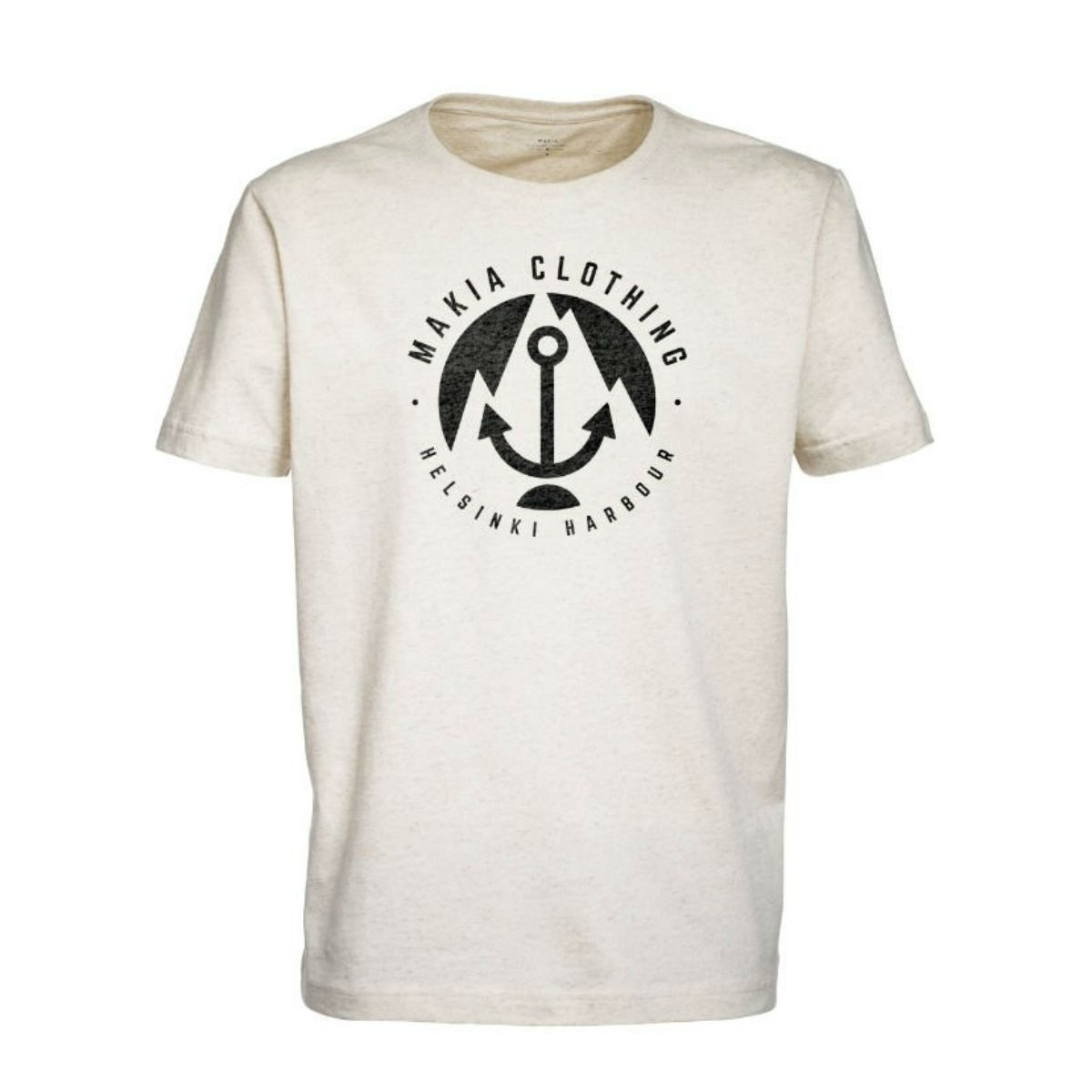 Krémově bílé tričko - Harbour - XL