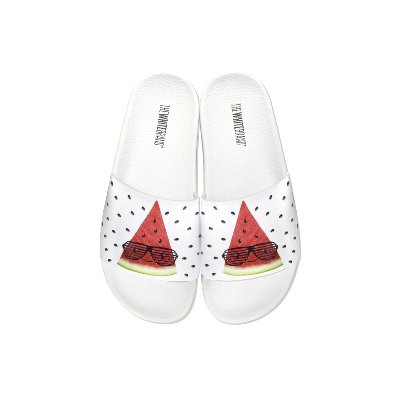 Bílé pantofle The White Brand - Afterwater! - 36