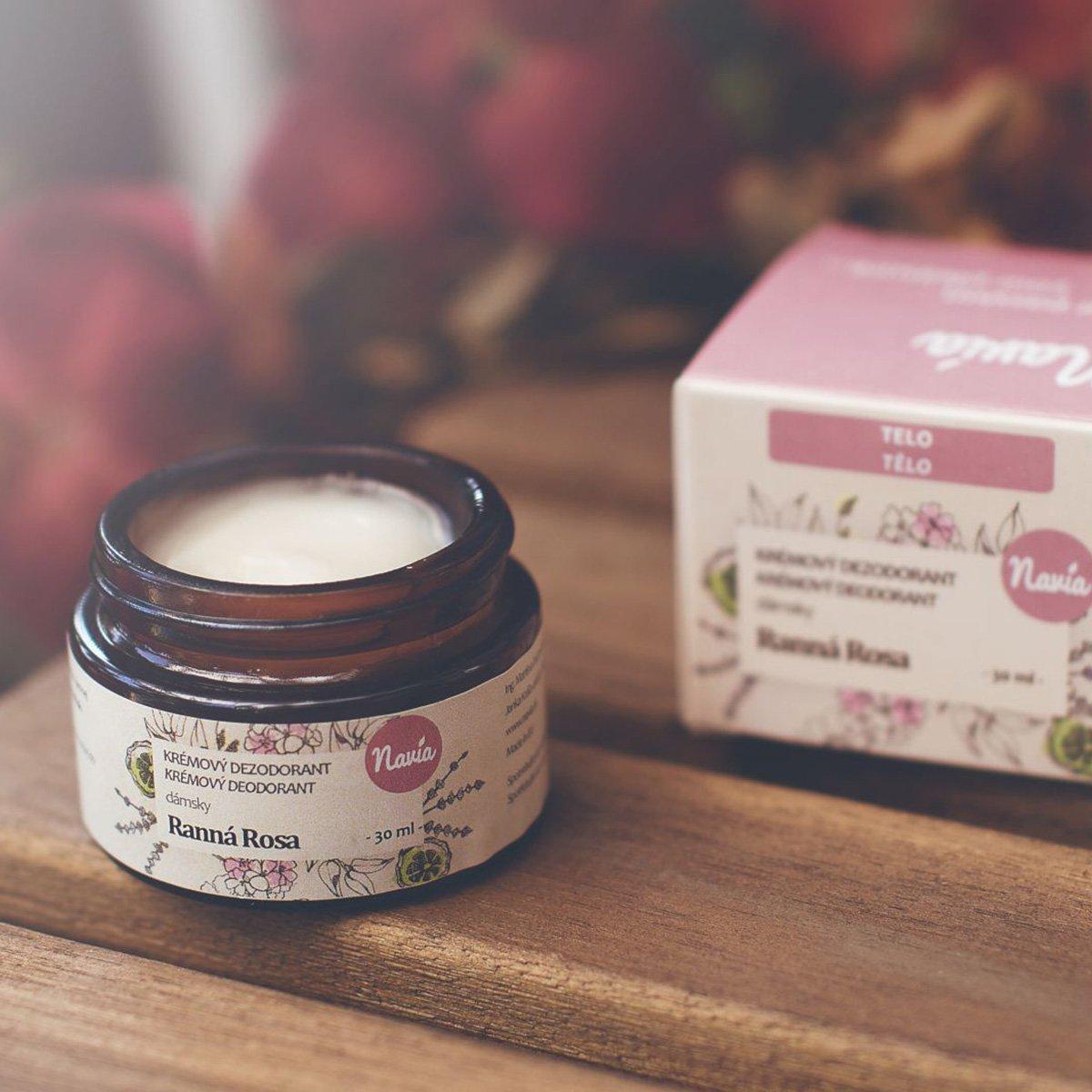 Krémový dámský deodorant - Ranní rosa
