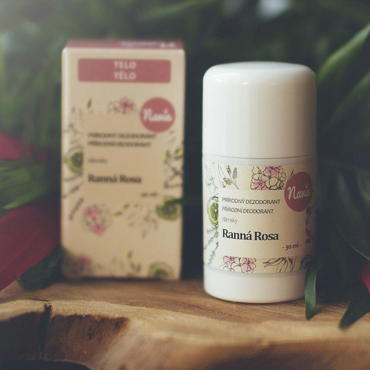 Tuhý dámský deodorant Navia - Ranní rosa