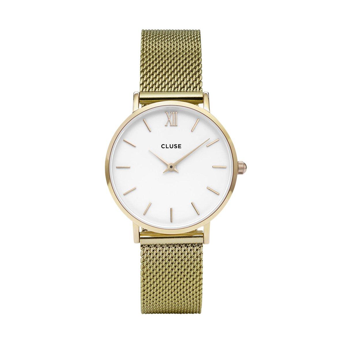 Zlaté dámské hodinky - Minuit Mesh