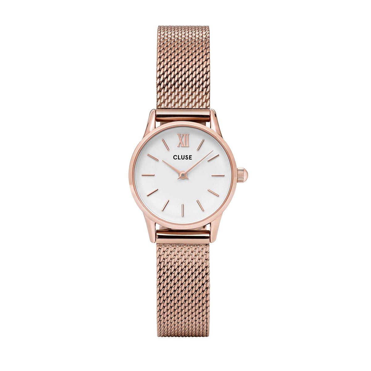 Růžové dámské hodinky - La Vedette Mesh