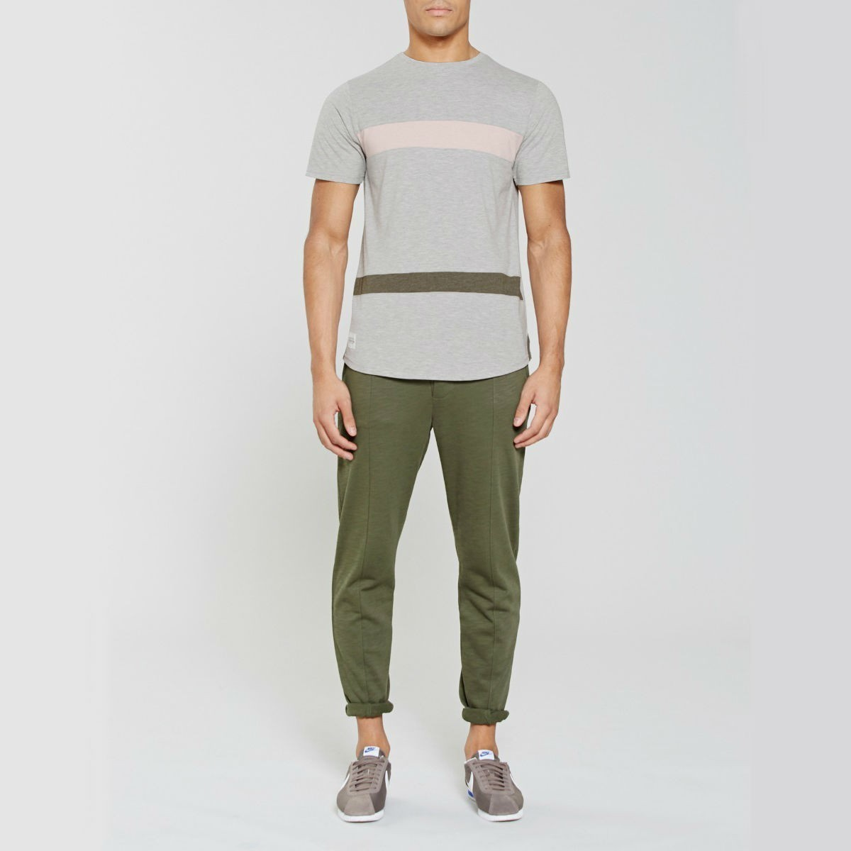 Šedé tričko – Fairoaks – M