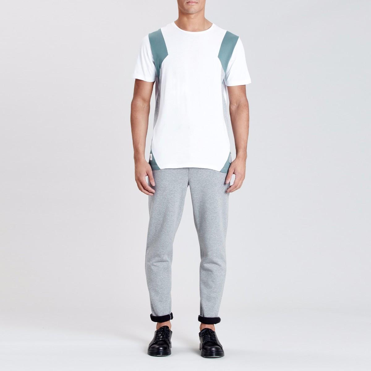 Bílé tričko – Delaware – XL