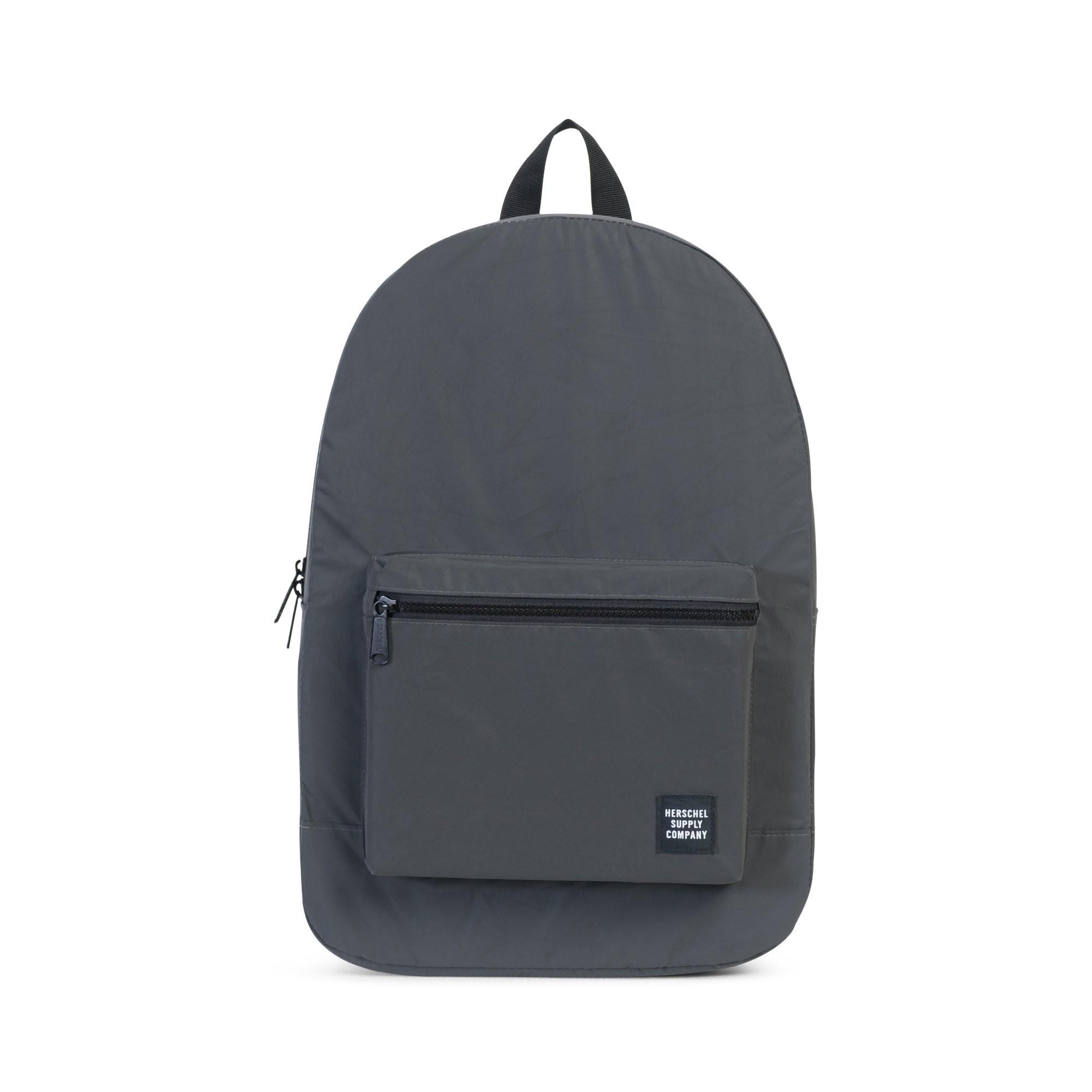 Černý reflexní batoh - Packable Daypack