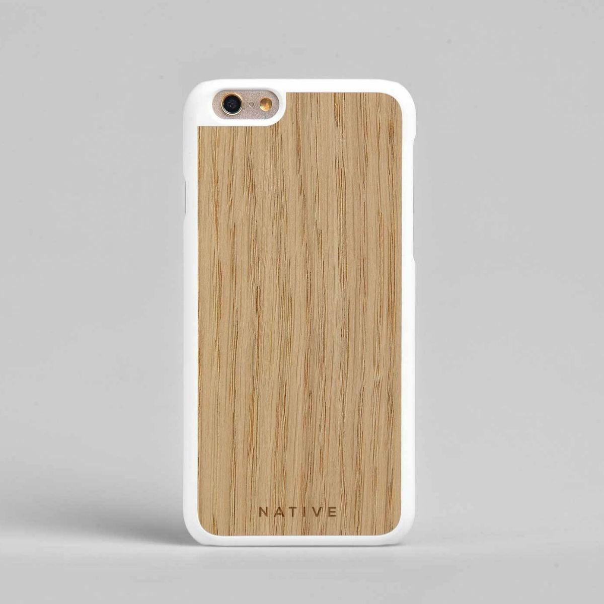 Bílý kryt na iPhone - Dub - 6/6S