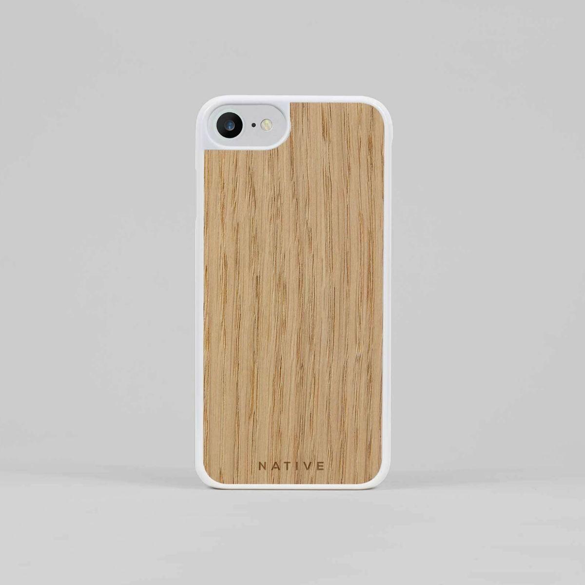 Bílý kryt na iPhone - Dub - 7