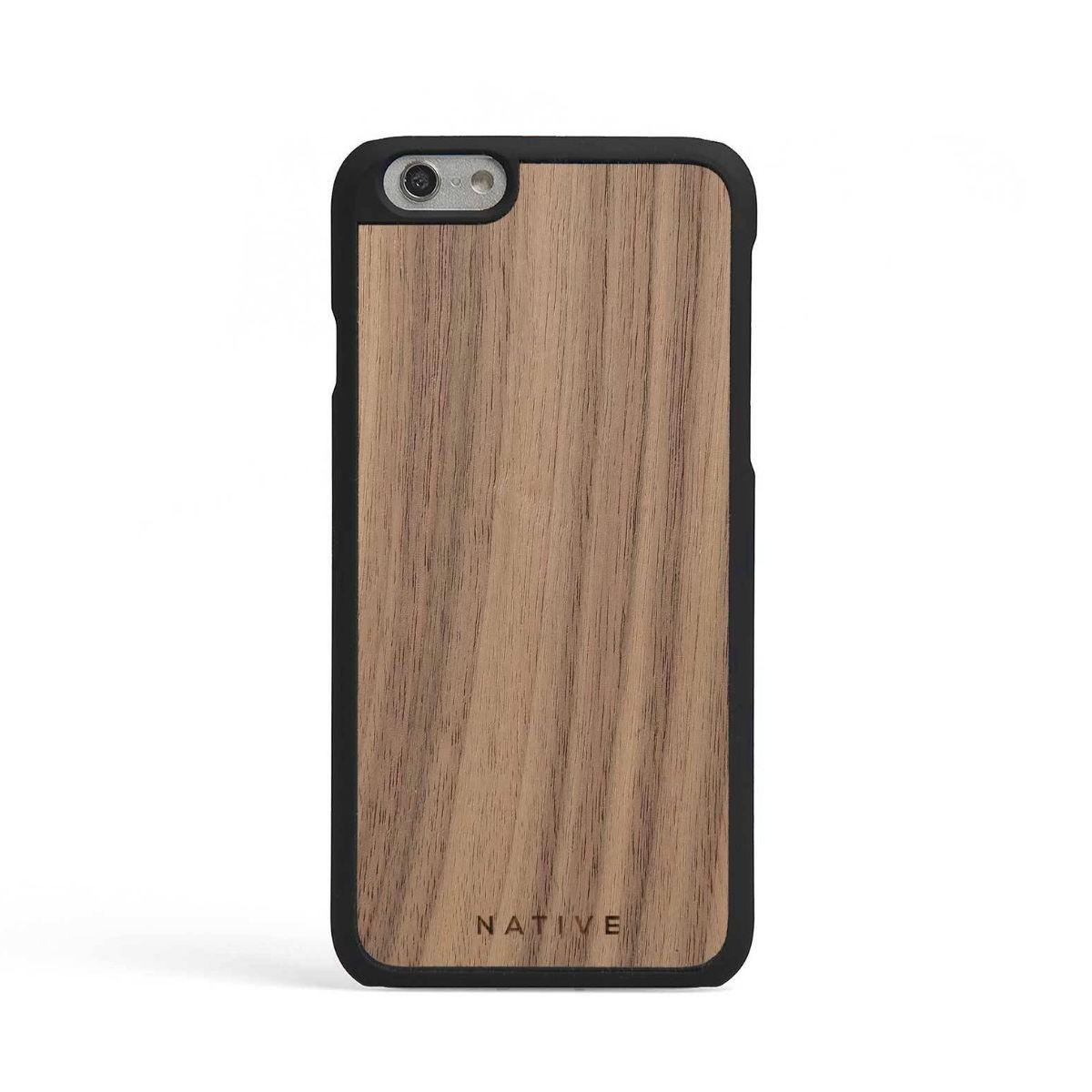 Kryt na iPhone - Ořech americký - 6+/6S+