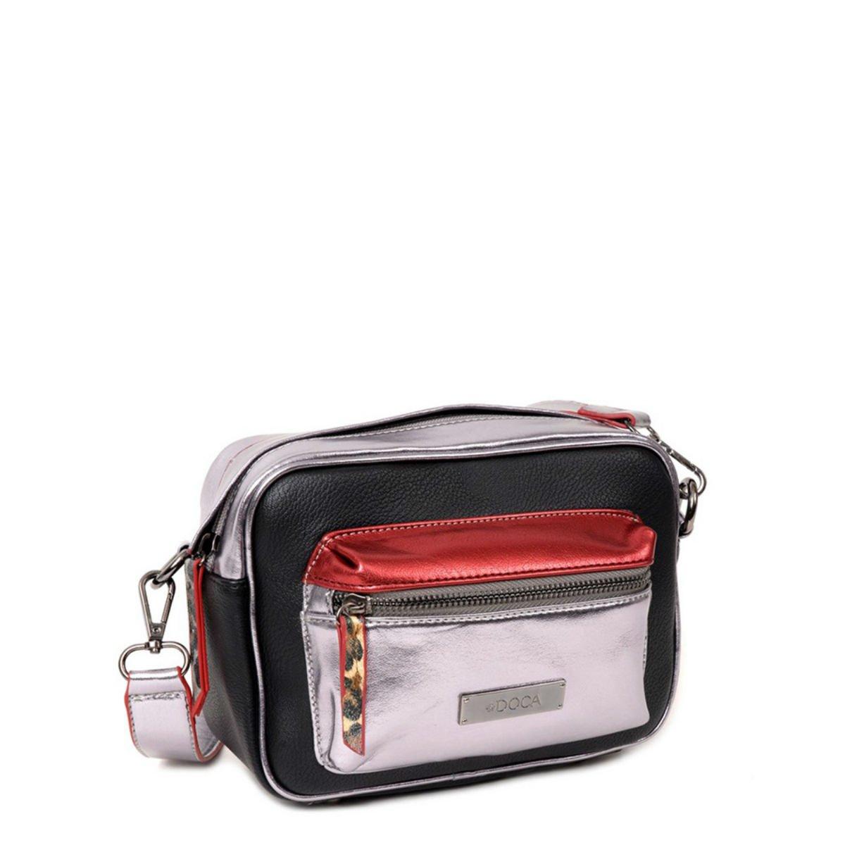 Černá lesklá kabelka – Disco bea2f6691e3