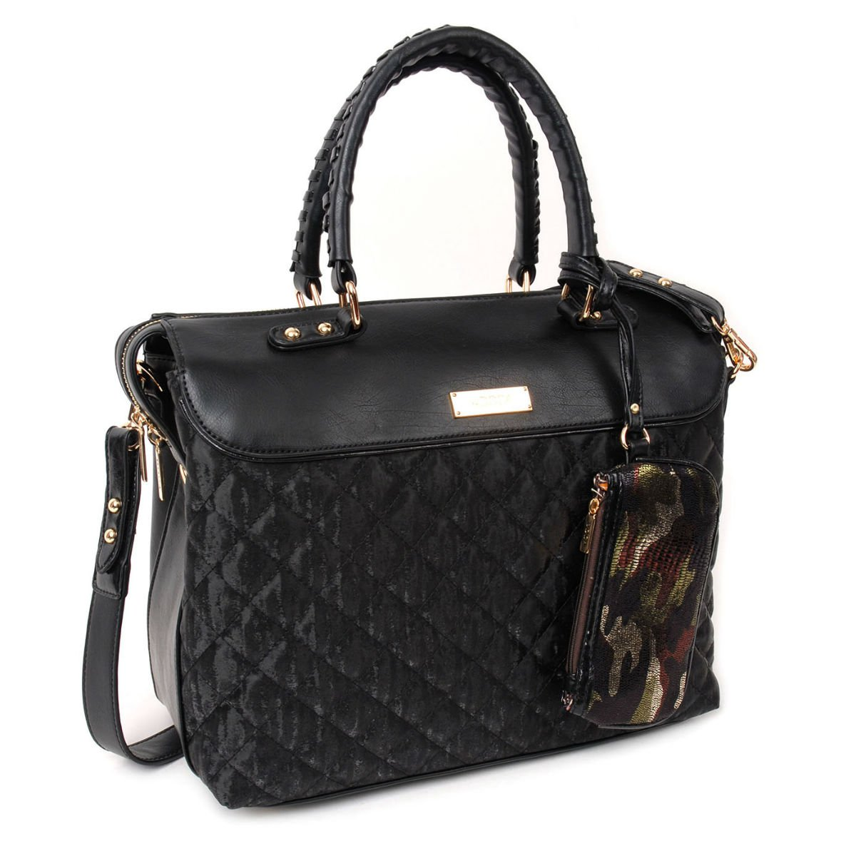 Černá kabelka DOCA - Beads
