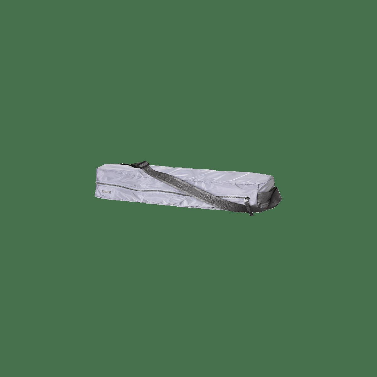 Taška na podložku na jógu - stříbrná