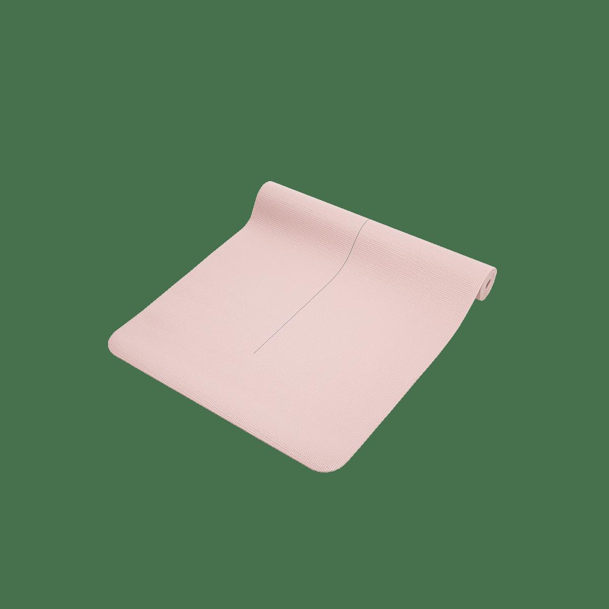Podložka na jógu 3 mm - světle růžová