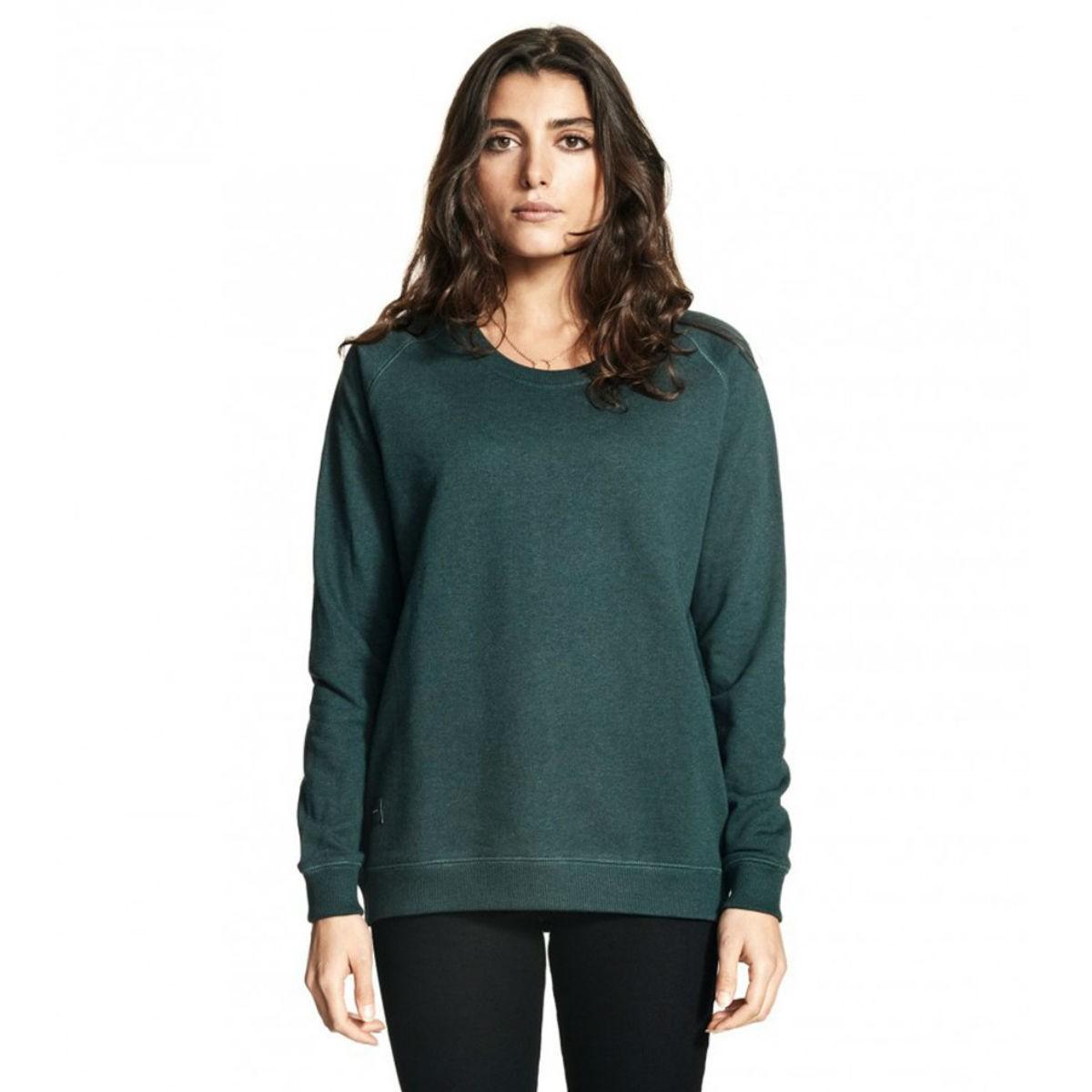 Zelená mikina - Raglan Sweatshirt - S