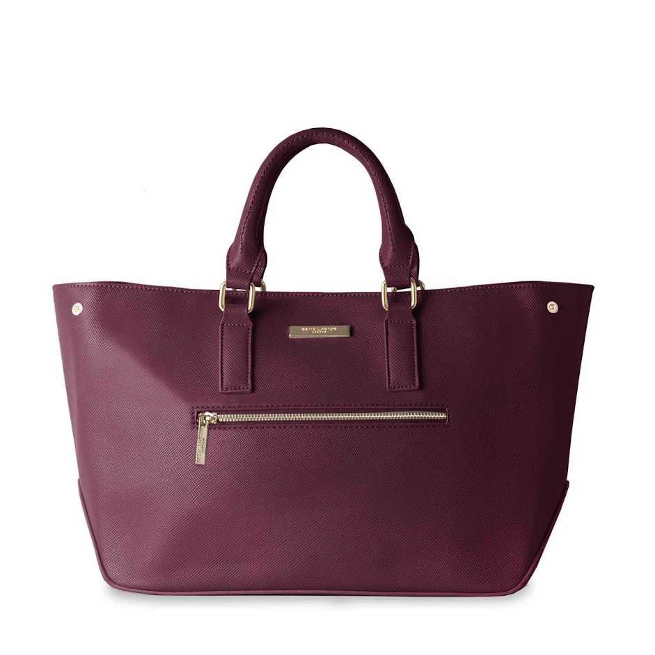 KATIE LOXTON Bordó kabelka – Adalie Day Bag
