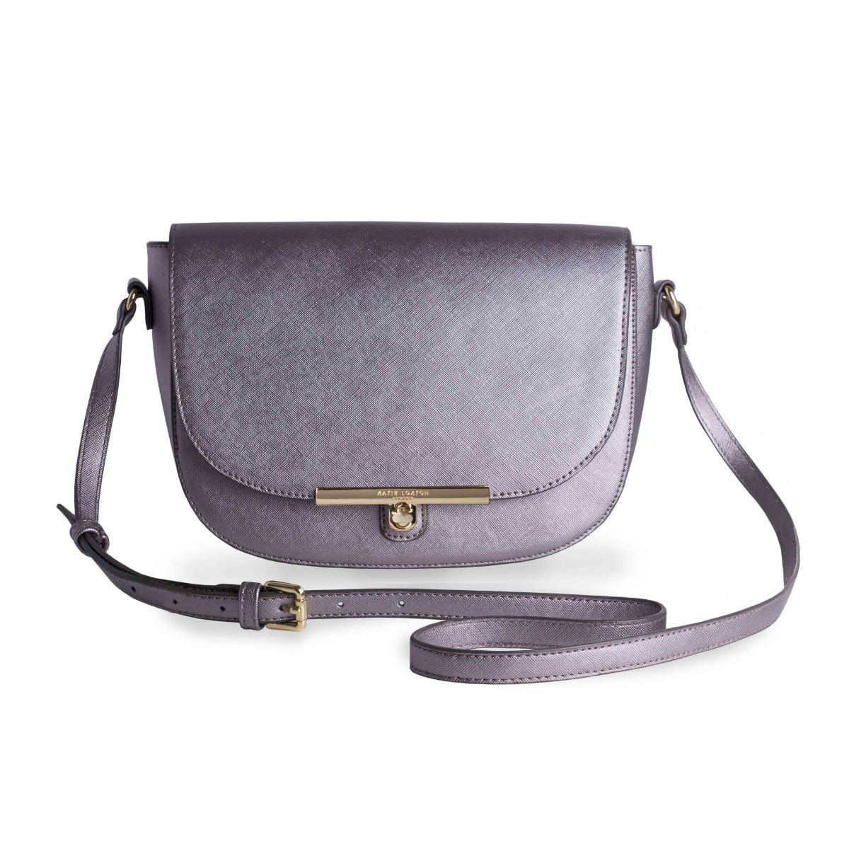 Šedá kabelka - Cece Saddle Bag