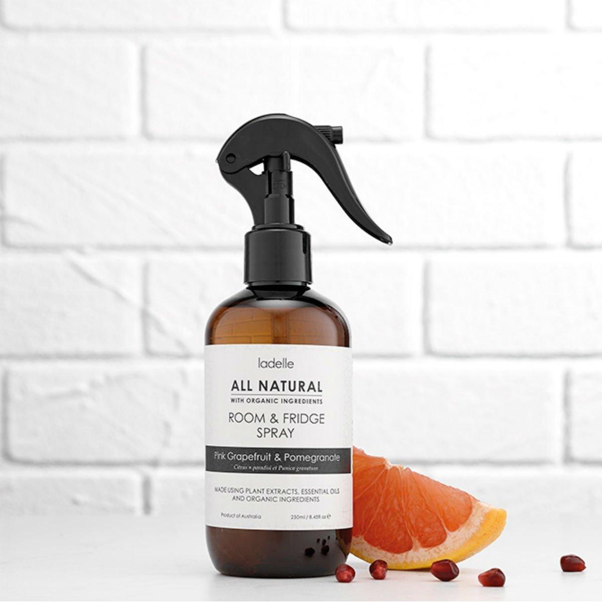 Čistící sprej na lednice a pokoje - Růžový grapefruit a pomeranč - 250 ml