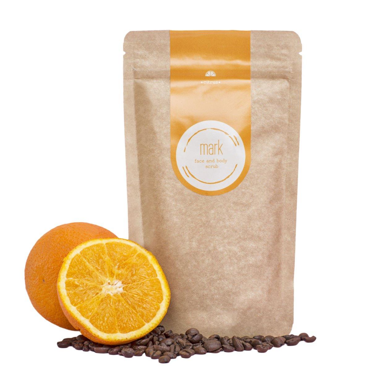 Kávový peeling s vůní citrusů - 200 g
