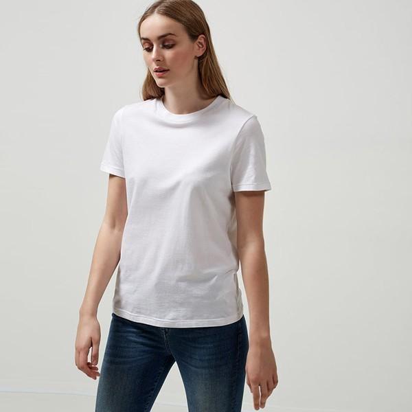 Bílé tričko Basic - XS