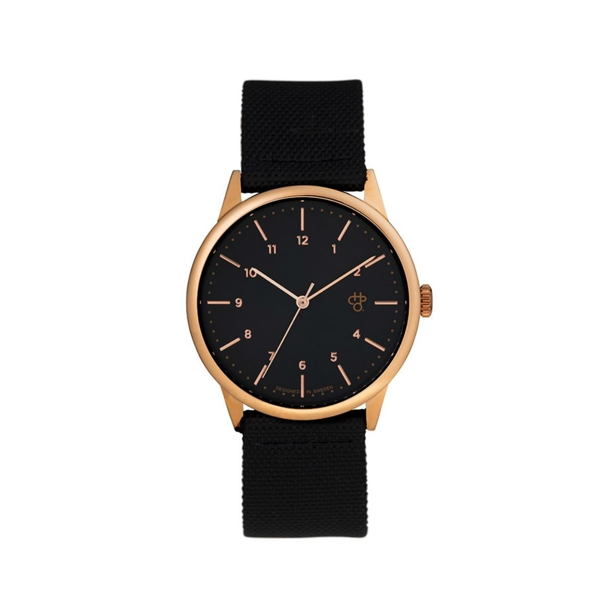 Hodinky Rawiya Black Rose - Rose Gold / Black