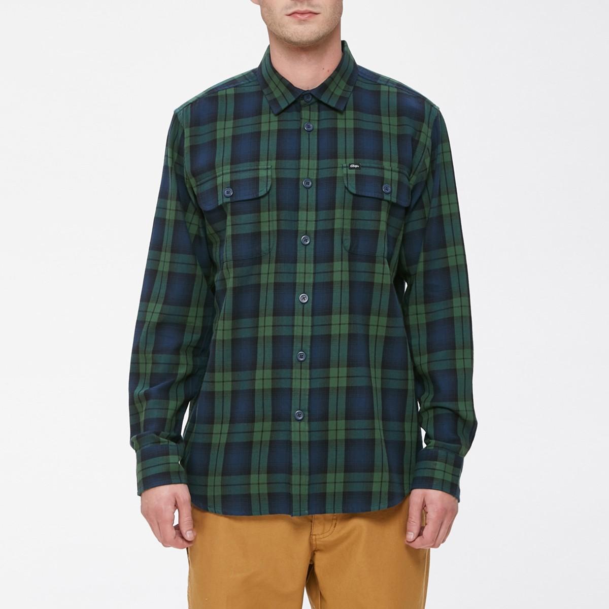 Zelená kostkovaná košile - Norwich - M