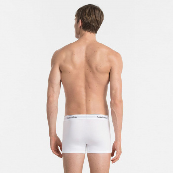 Sada 2ks – Bílé boxerky Low Rise Cotton Stretch