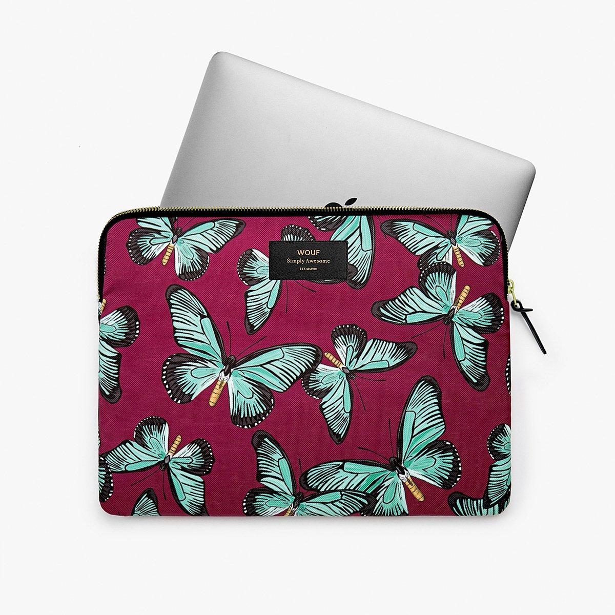 """Pouzdro na notebook 13"""" - Butterfly"""