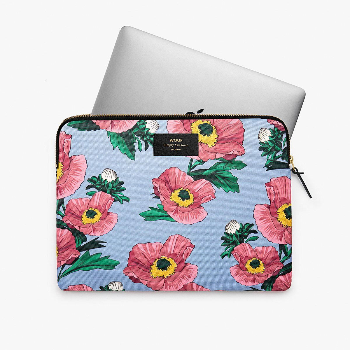 "Pouzdro na notebook 13"" – Flowers"