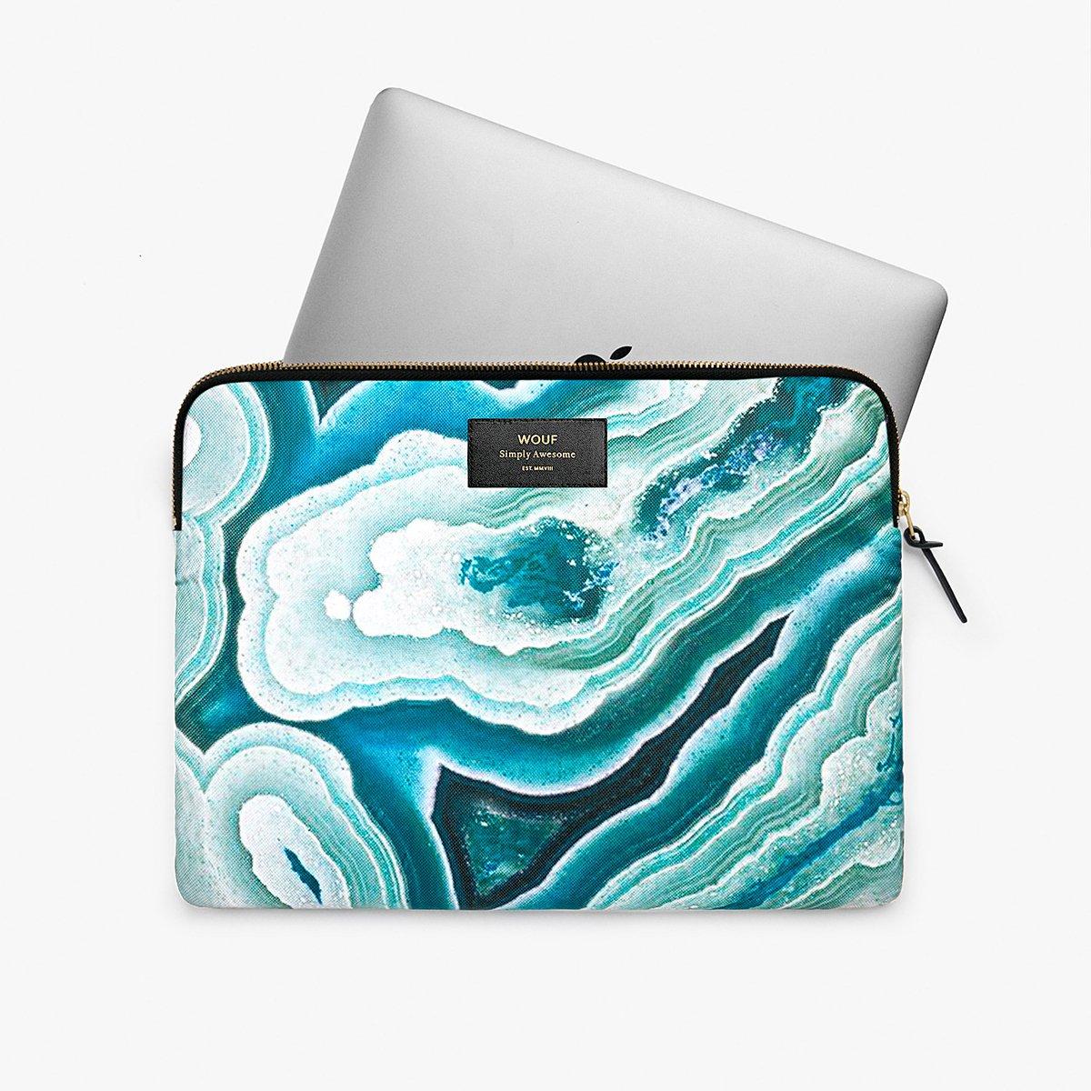 "Pouzdro na notebook 13"" - Blue Mineral"