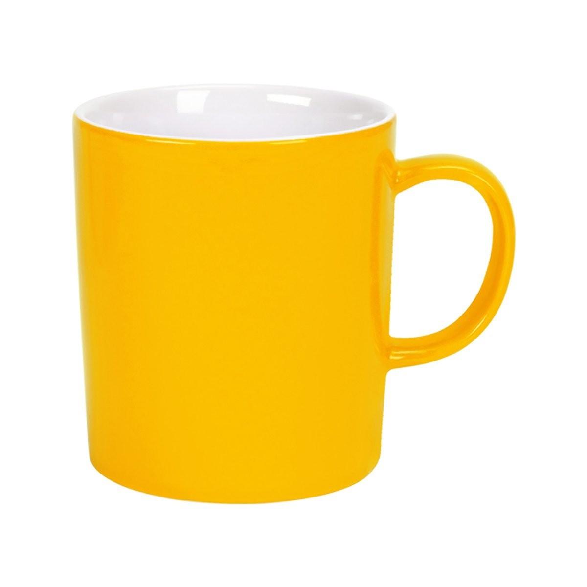MIX IT! Hrnek na kávu 250 ml - žlutá