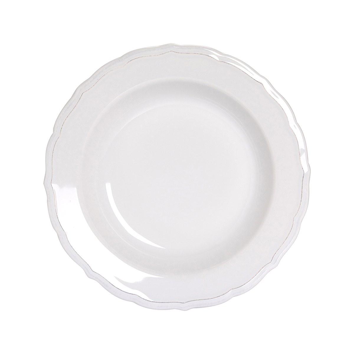 EATON PLACE Hluboký talíř 23,5 cm - bílá