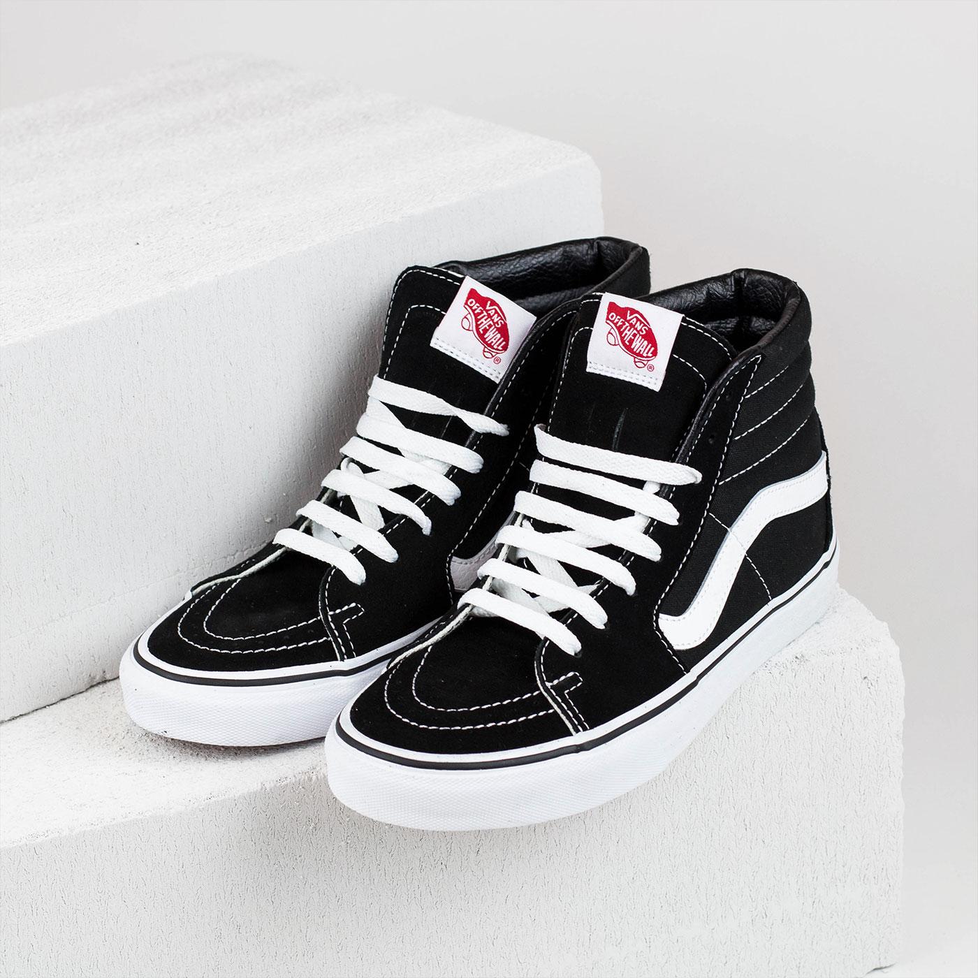 Černé tenisky – SK8–HI Black/Black/White – 39