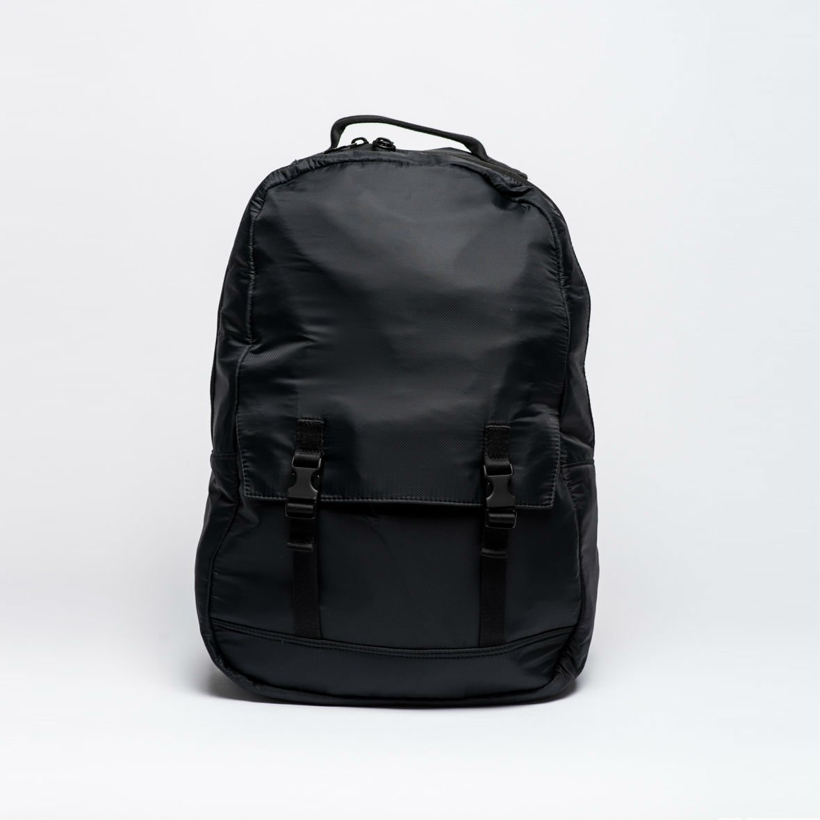 b0139f8a620 Batoh simple pocket backpack ripstop black levně