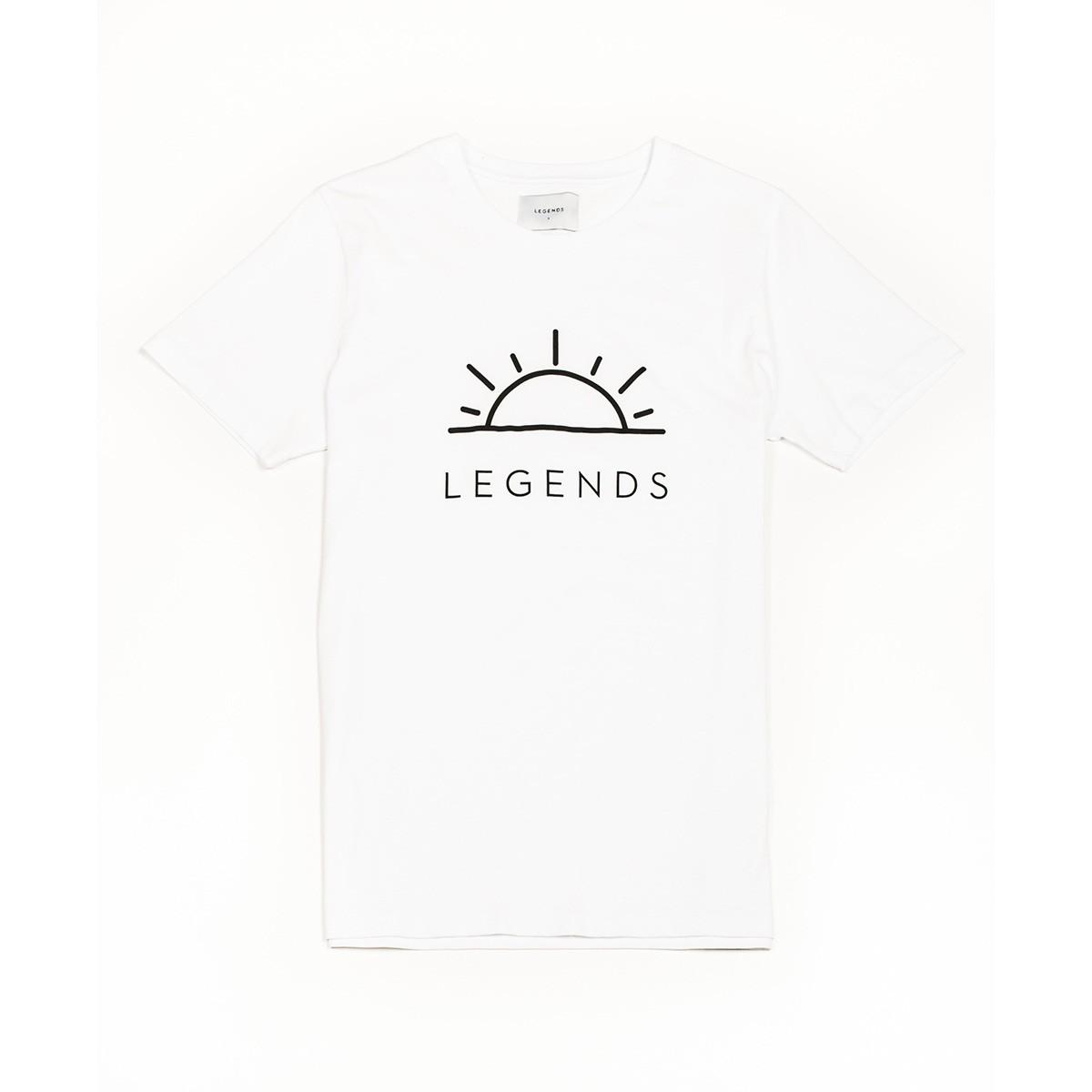 Bílé tričko - Sunshine - XXL