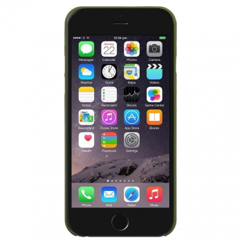 Kryt na iPhone 6 – Clic Air Olive