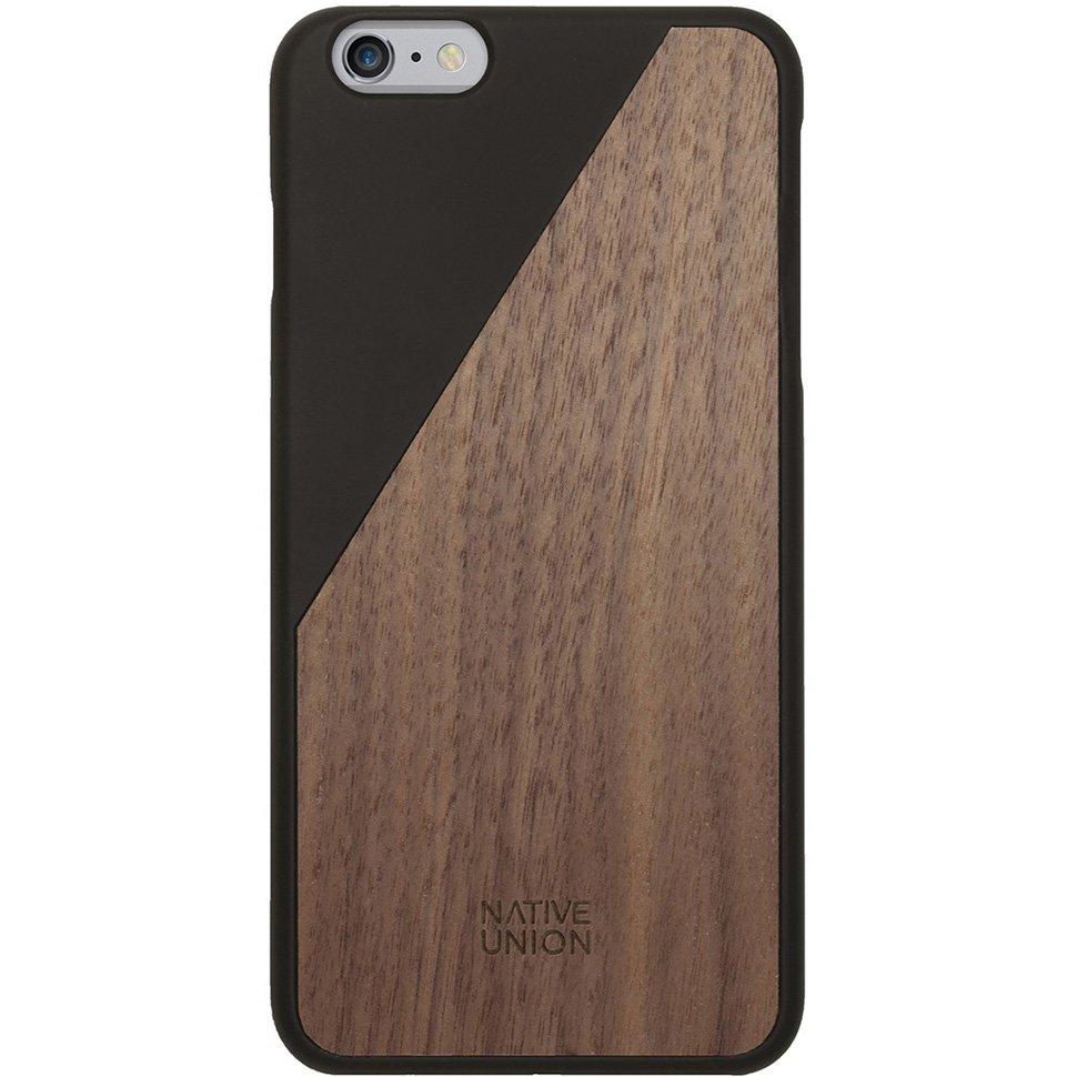 Kryt na iPhone 6 Plus – Clic Wooden Black