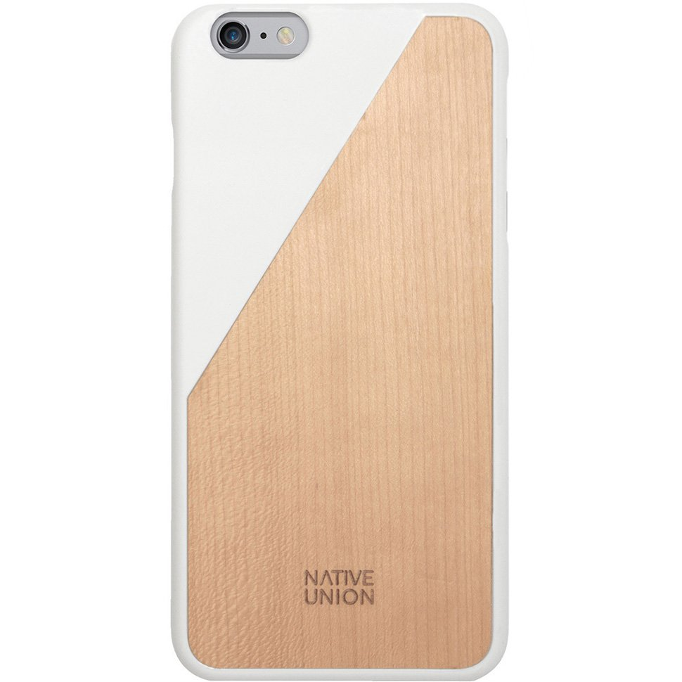 Kryt na iPhone 6 - iPhone 6 Plus - Clic Wooden White