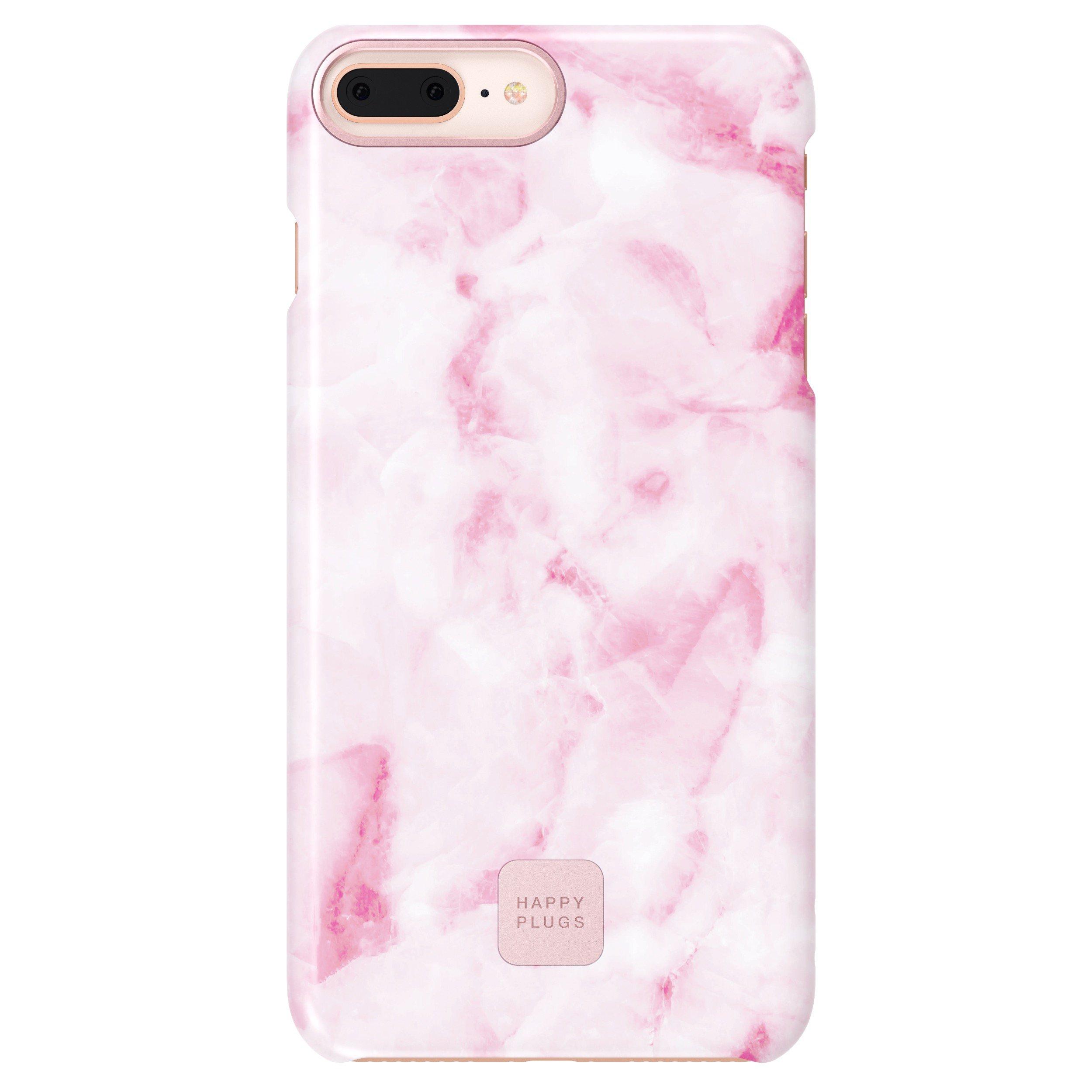 Ultratenký obal na iPhone 7/8 Plus - růžový mramor
