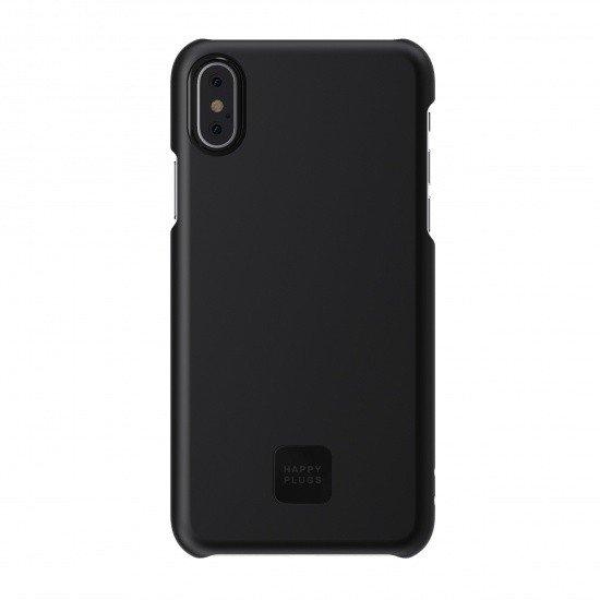 Ultratenký obal na iPhone X – černý HAPPY PLUGS