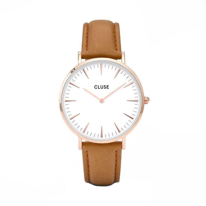 Hnědé dámské hodinky – La Bohéme