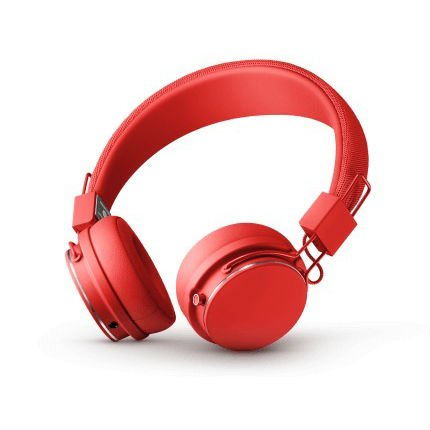 Červená sluchátka - PLATTAN II BT