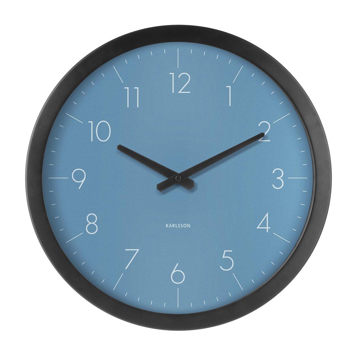 Nástěnné hodiny Dainty Outside – modré