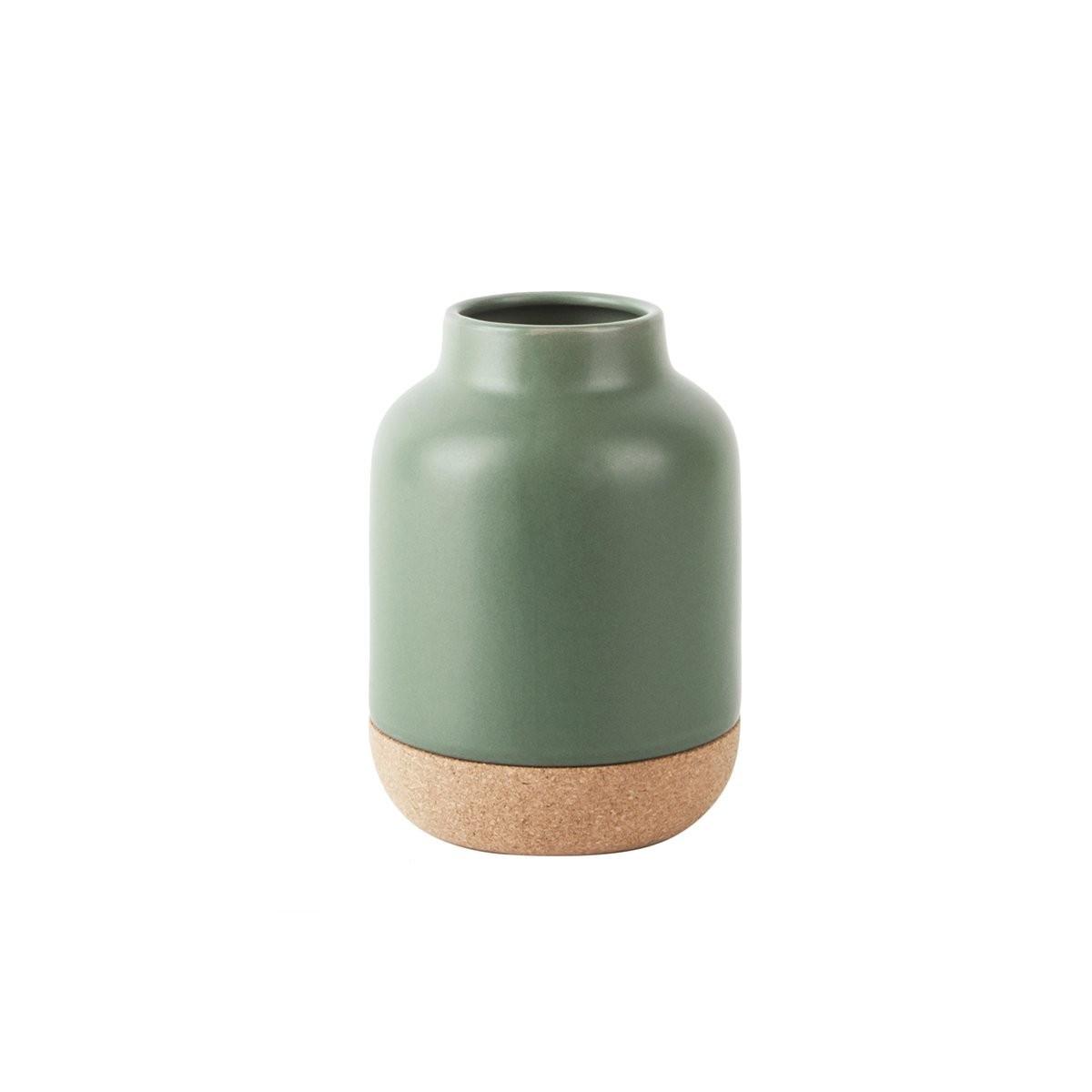 Sada 2 ks − Váza Craft malá – zelená Present Time