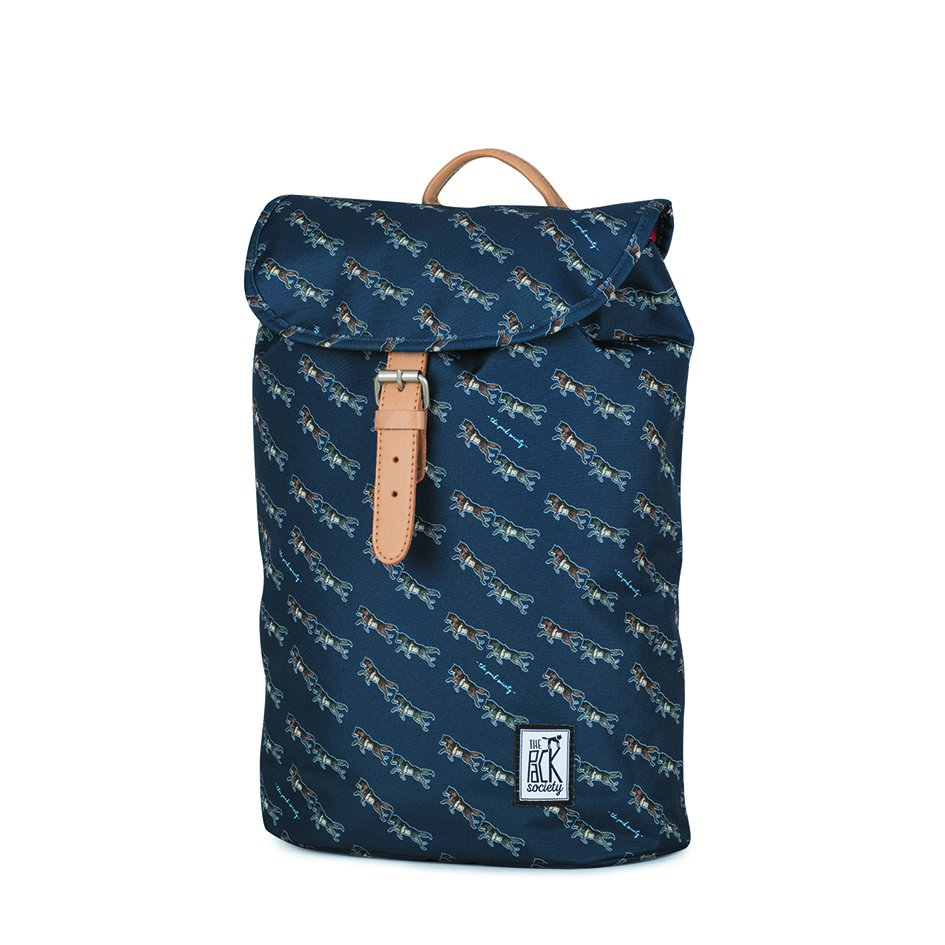Tmavě modrý batoh - Small