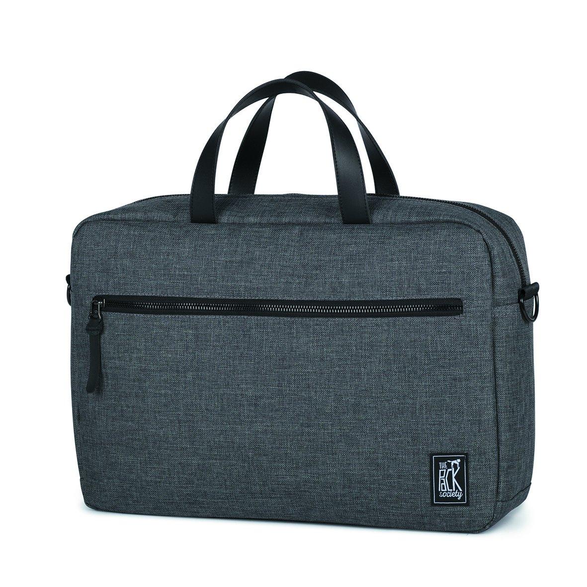 Tmavě šedá taška na laptop – Reporter