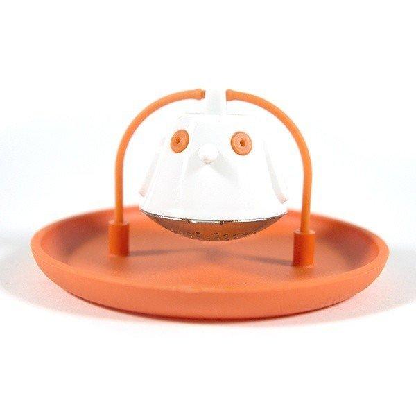 Čajové sítko Birdie Swing – oranžové