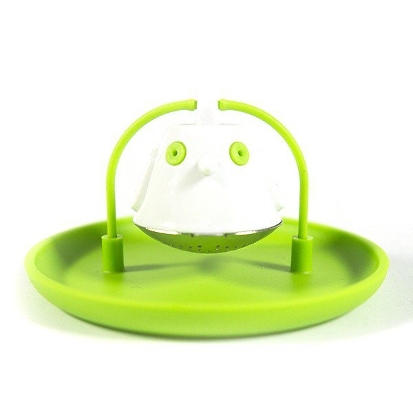 Čajové sítko Birdie Swing – zelené