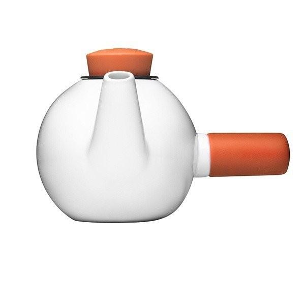 Porcelánová čajová konvice Teakyo – oranžová
