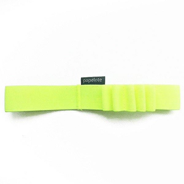 Gumička na tužky A4 – neonová žlutá